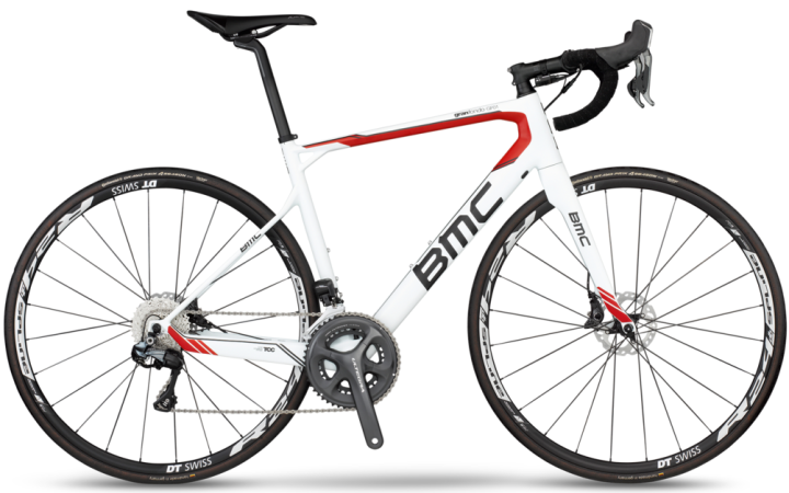 2016 BMC Granfondo GF01 disc white ultegra red