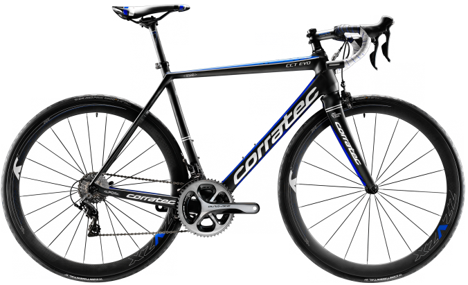 2016 Corratec CCT Evo blue dura ace