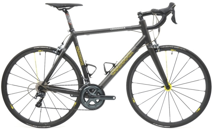 2016 Craddock yellow black ultegra