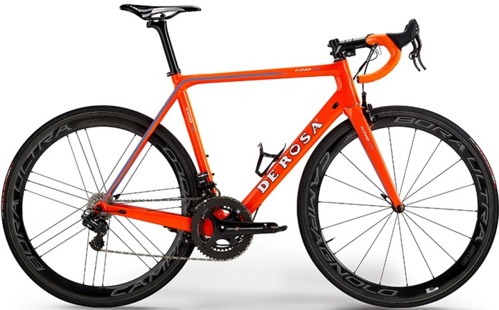 2016 De Rosa King XS orange campy 2