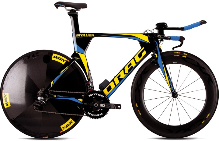 2016 Drag stallion-te tt yellow black dura ace di2