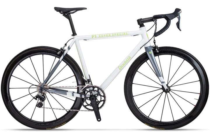 2016 Favorit F1 Super Special dura ace white grey silver