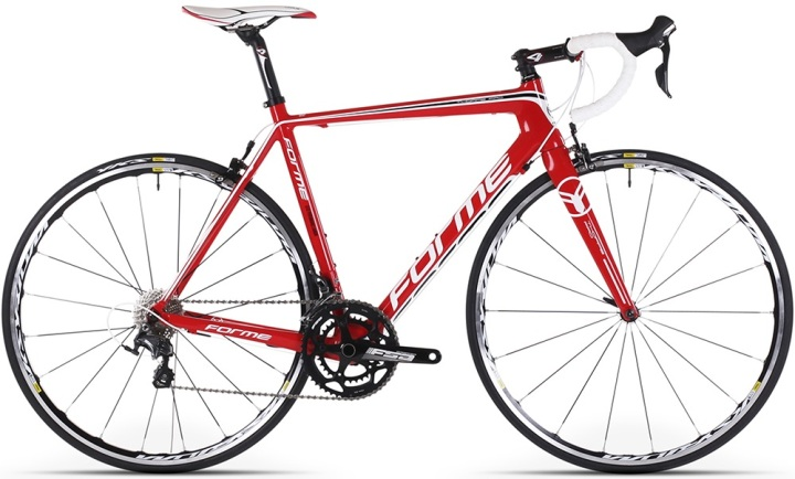 2016 Forme thorpe-pro red white ultegra