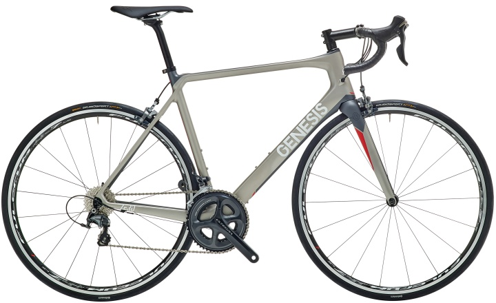 2016 Genesis Zero Z.2 grey red ultegra