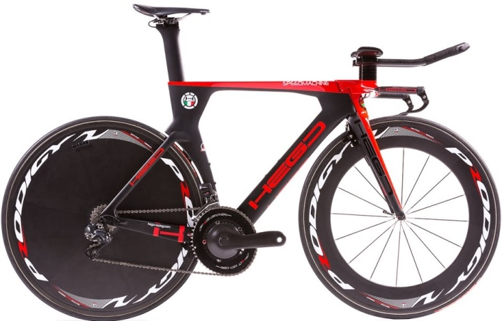 2016 Hego Speedmachine tt red black dura ace