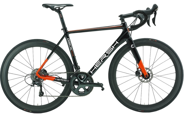 2016 Hersh Disck Race orange black ultegra disc