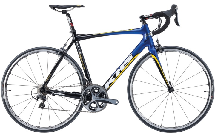 2016 KHS Flite Team blue yellow dura ace