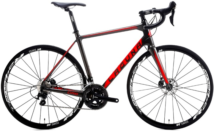 2016 Laguna DRB 105 disc red black