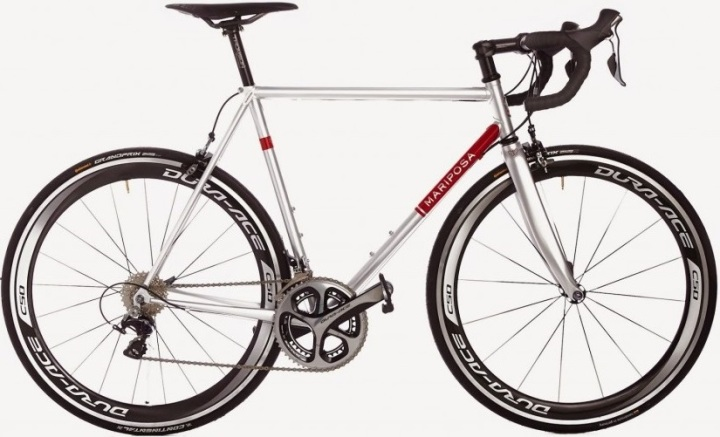 2016 Mariposa_white Silver steel dura ace