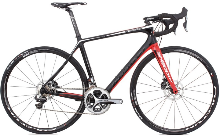2016 Massi Shadow Dura Ace di2 disc red black