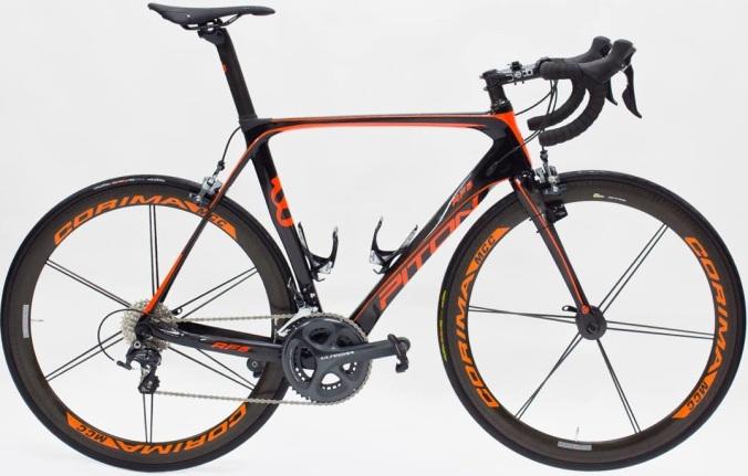 2016 Piton RF5 orange ultegra special edition