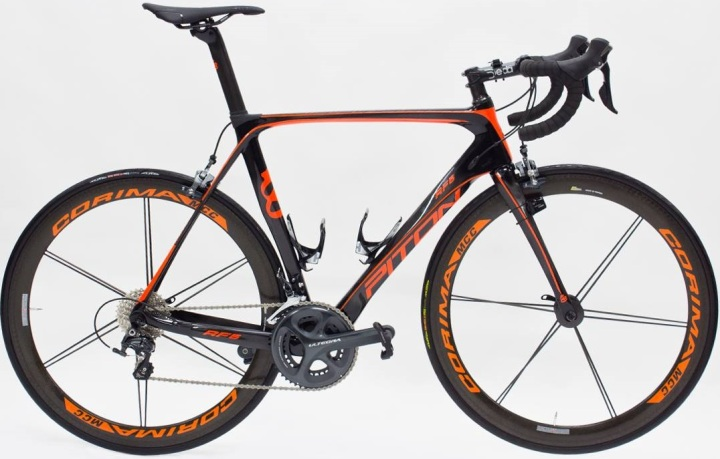 2016 Piton RF5 orange ultegra special edition