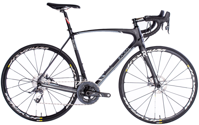 2016 Radial ESPIRE CARBON 1.1 DISC grey sram apex