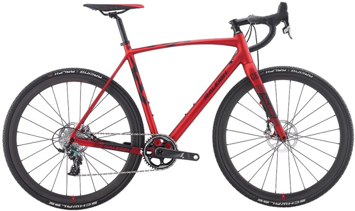 2016 Raleigh RX Team cx disc red sram force