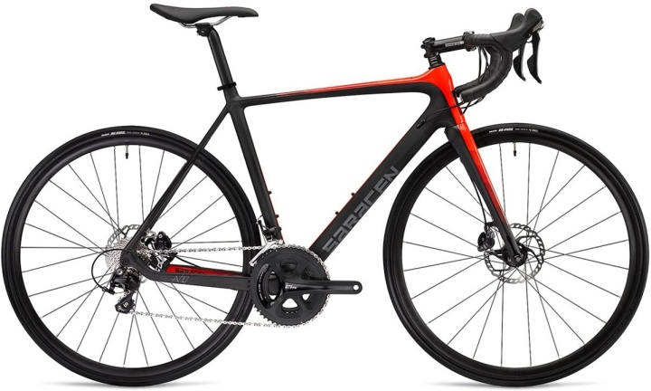 2016 Sarace Avro red black shimano 105 disc