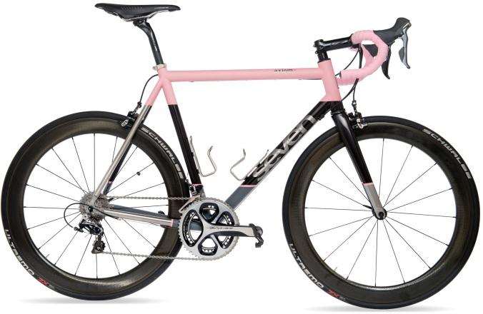 2016 Seven Axiom SL pink dura ace