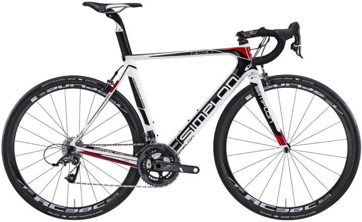 2016 Simplon Nexio Sram Force red white black