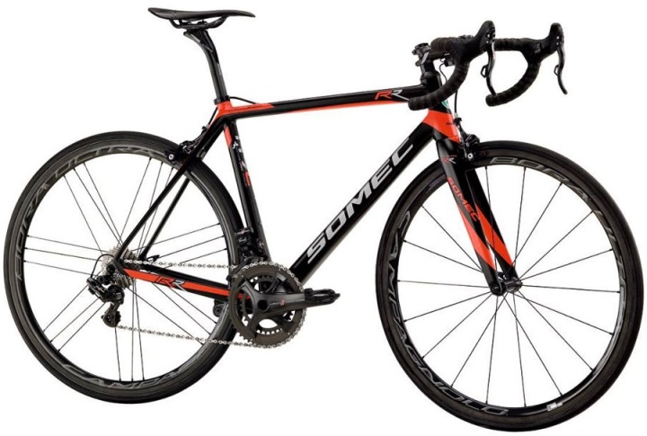 2016 Somec Revolution Royal red black campy super record