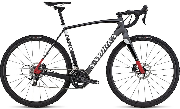 2016 Specialized S-Works Crux cx disc red silver dura ace