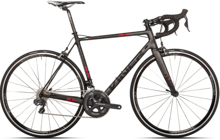 2016 Viner Mitus Ultegra di2 grey red