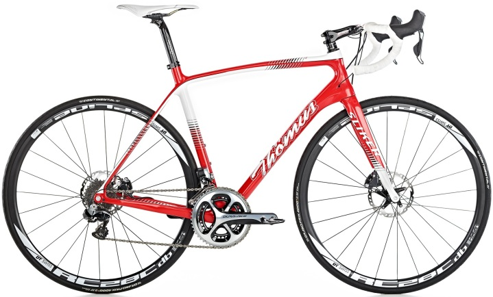 Thömus Sliker disc red white 2016 dura ace