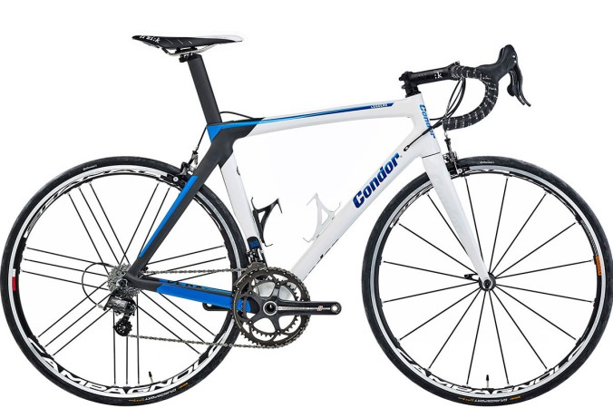 2016 Condor Leggero campy super record white blue