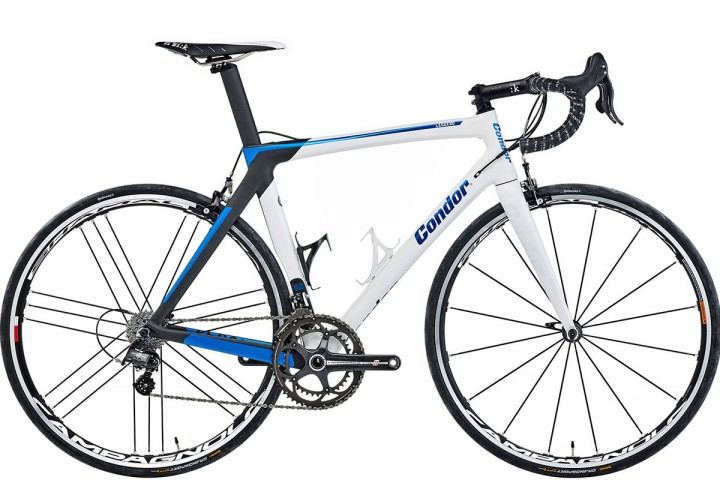 2016 Condor Leggero campy super record white blue