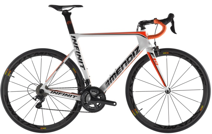 2016 Mendiz F10 ultegra white red