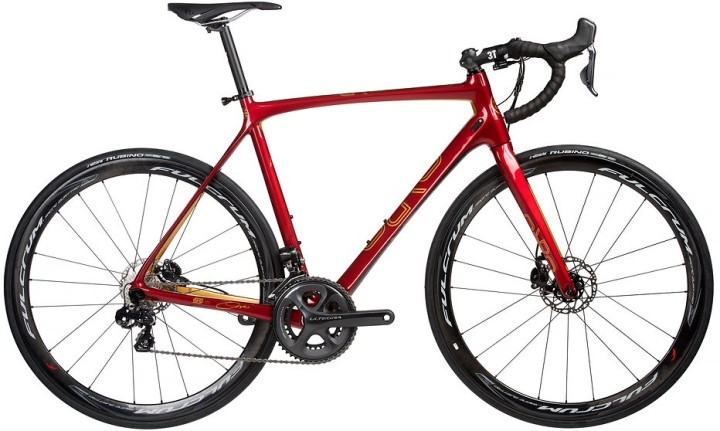 2016 Orro Gold STC disc Signature edition gold red ultegra
