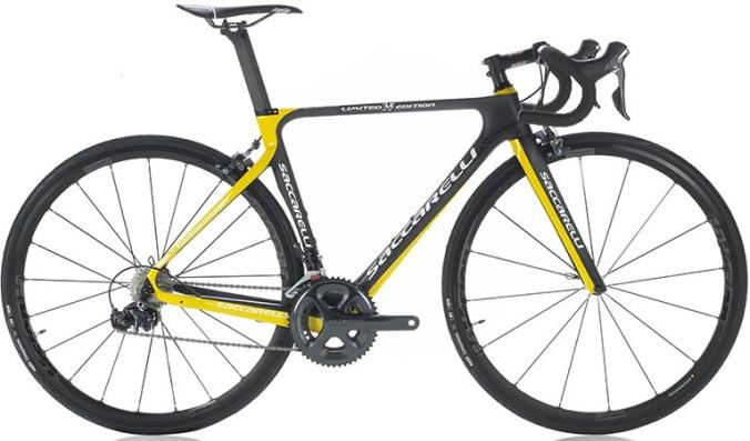 2016 Saccarelli 35th anniversary edition yellow black ultegra