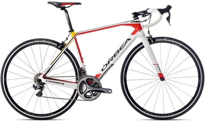 2015 Orbea Orca OMR cofidis dura ace orange red