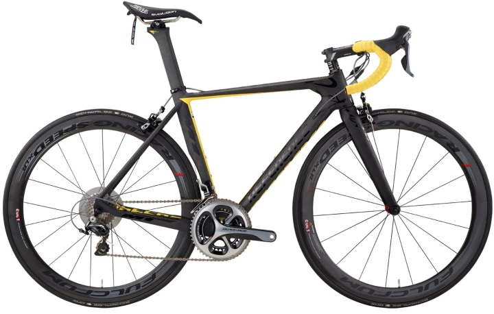 2016 Cello Reference yellow black dura ace