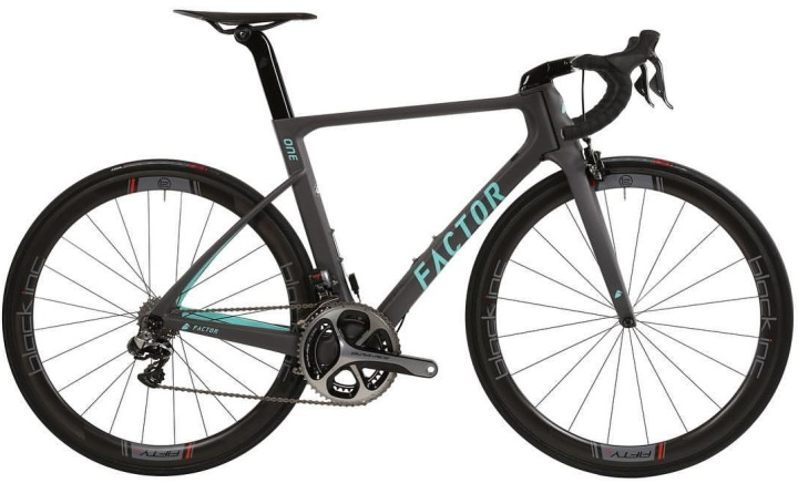 2016 Factor One dura ace grey light blue