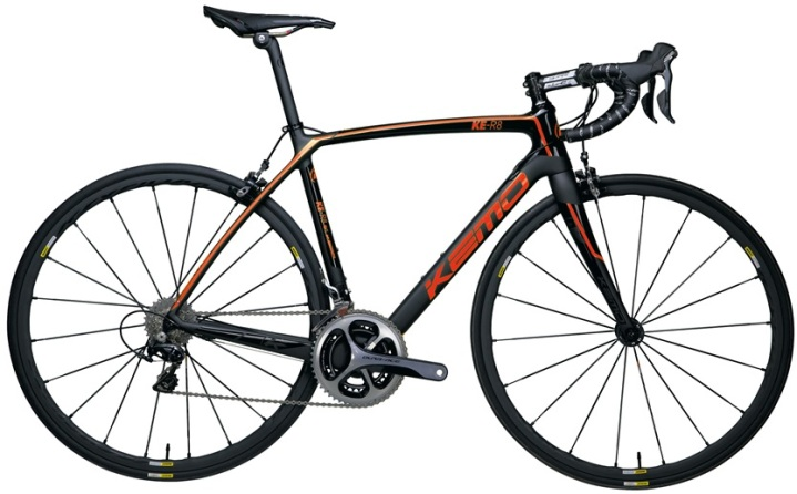 2016 Kemo KE R8 orange black dura ace