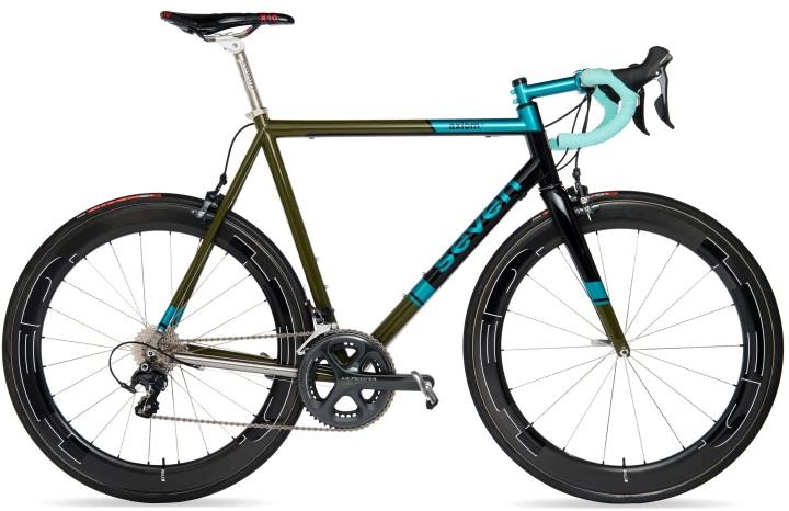 2016 Seven Axiom SL light blue green ultegra speed vagen