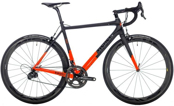 2016 Tifosi SS26 campy chorus orange black