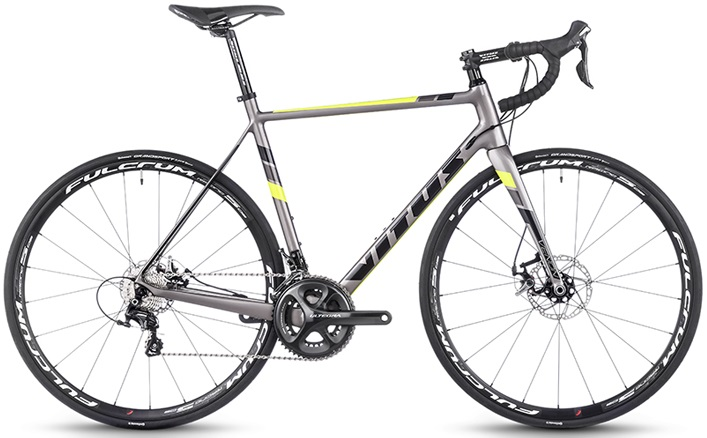 2016 Vitus VENON VR DISC yellow silver