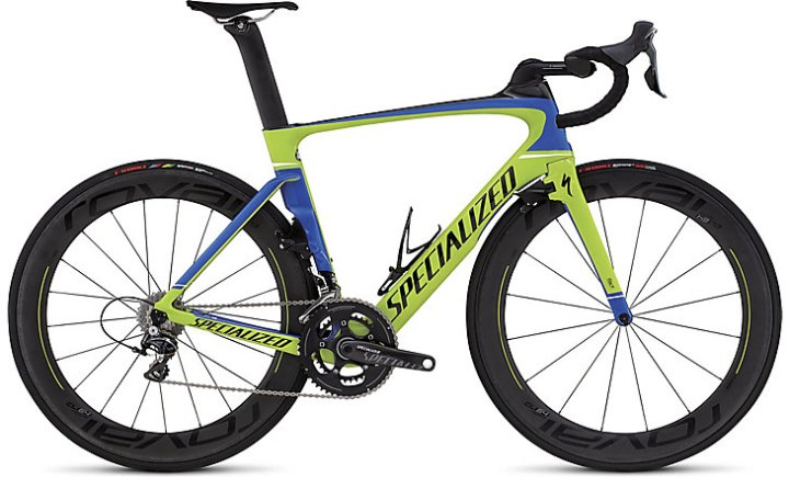 Specialized Venge Pro Vias 2016 lime blue