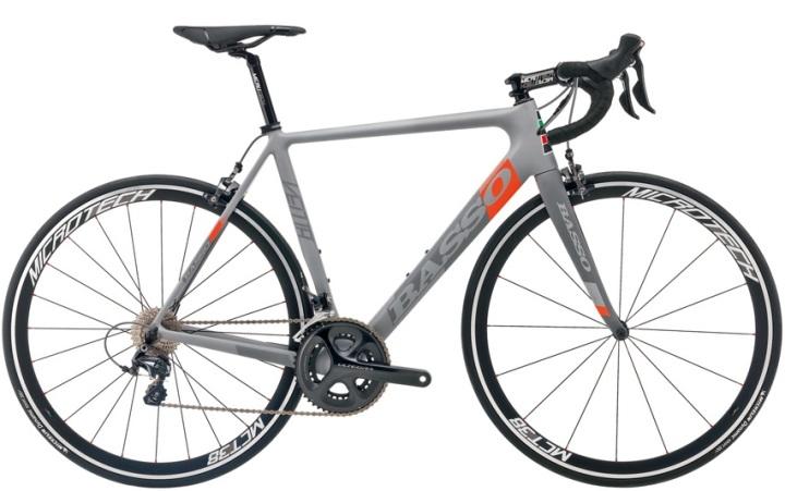 2016 Basso Venta ultegra grey orange