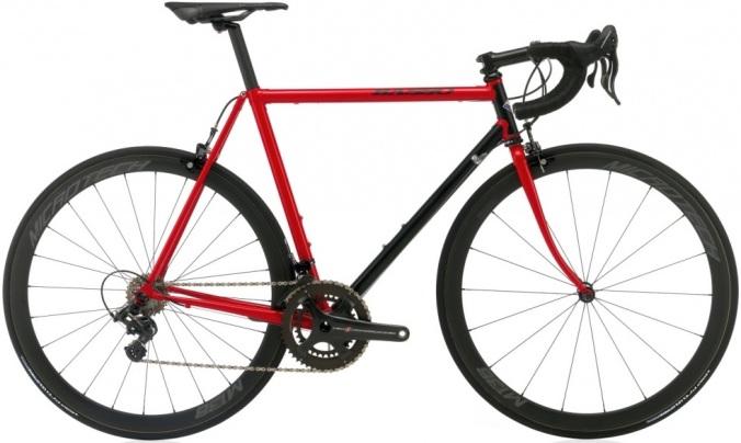 2016 Basso Viper steel classic campy red black