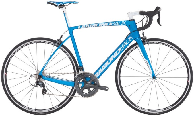 2016 Diamondback Podium Vitesse light blue ultegra