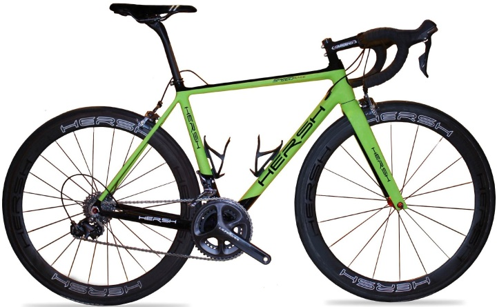 2016 Hersh Speed Limited lime green ultegra