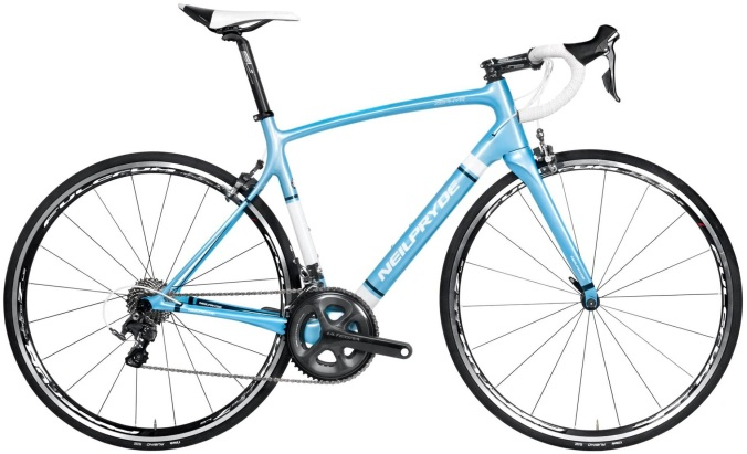 2016 Neil Pryde Zephyr light blue ultegra