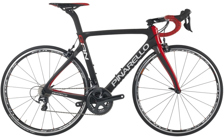 2016 Pinarello Gan RS red black ultegra
