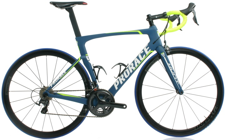 2016 Prorace Hunt blue yellow ultegra