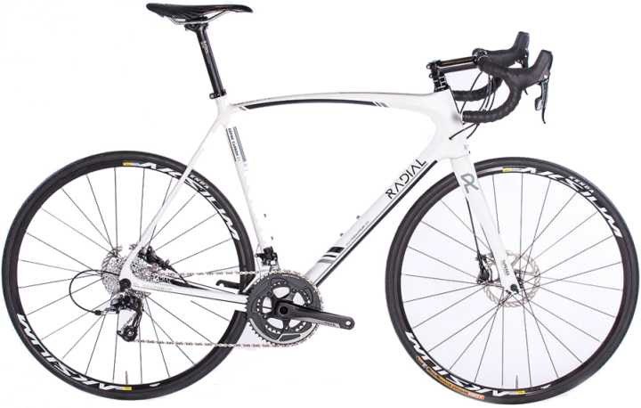2016 Radial white ESPIRE CARBON 2.1 DISC