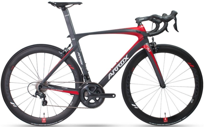 2017 Arrox R1 red black ultegra