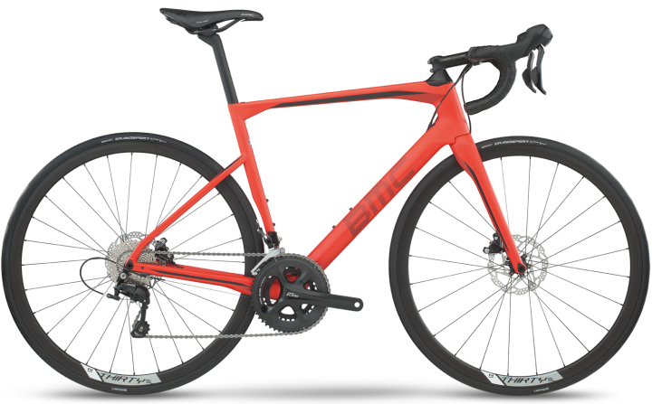 2017 BMC Roadmachine 02 disc orange ultegra