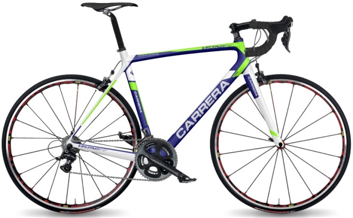 2017 CARRERA- velenoTS_ lime blue dura ace