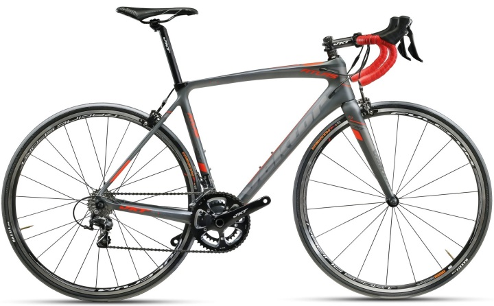 2017 Vektor Atlas grey red shimano 105